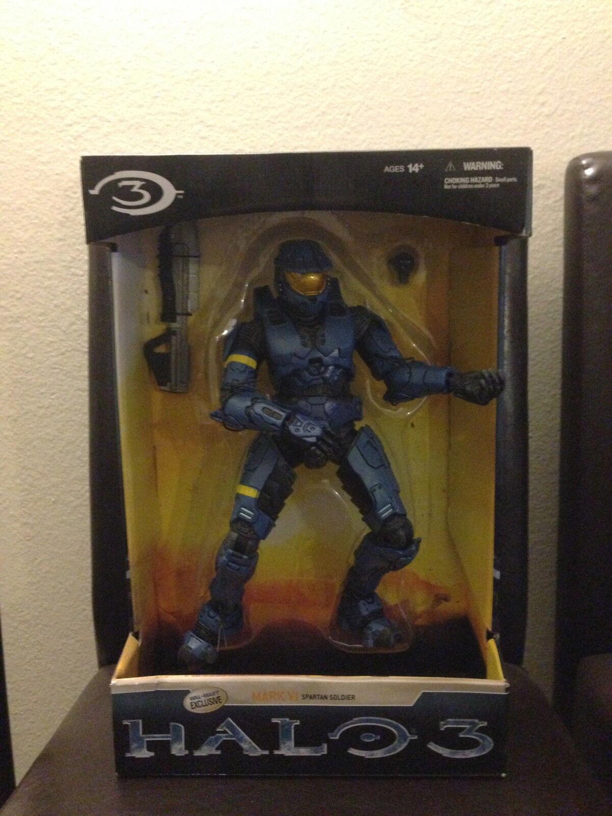 Halo 3 Mark Vi Spartan Soldado 12 Pulgadas Walmart Exclusive