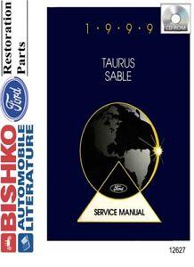1999 Ford Taurus & Sable Shop Service Repair Manual CD ...