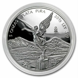 SALE-PROOF-LIBERTAD-MEXICO-2019-5-oz-Proof-Silver-Coin-in-Capsule