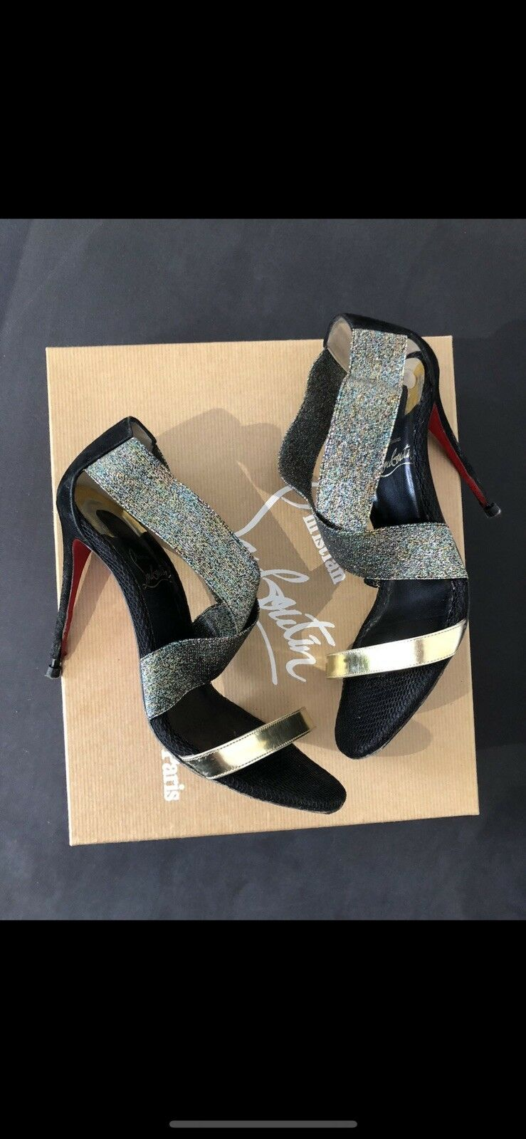 Christian Louboutin Sandale Chaussures Taille 5