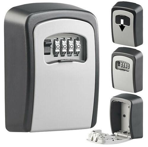 XCase Mini coffre à clés mural avec code à 4 chiffres
