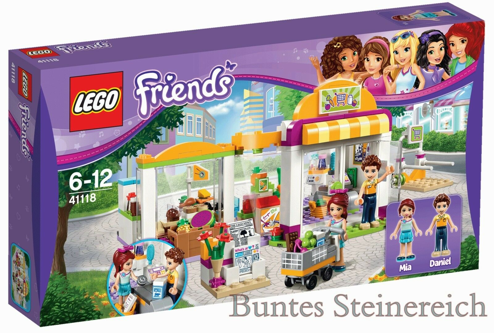 LEGO ® Friends  41118 Heartlake supermarché & 0. - expédition & OVP & NOUVEAU