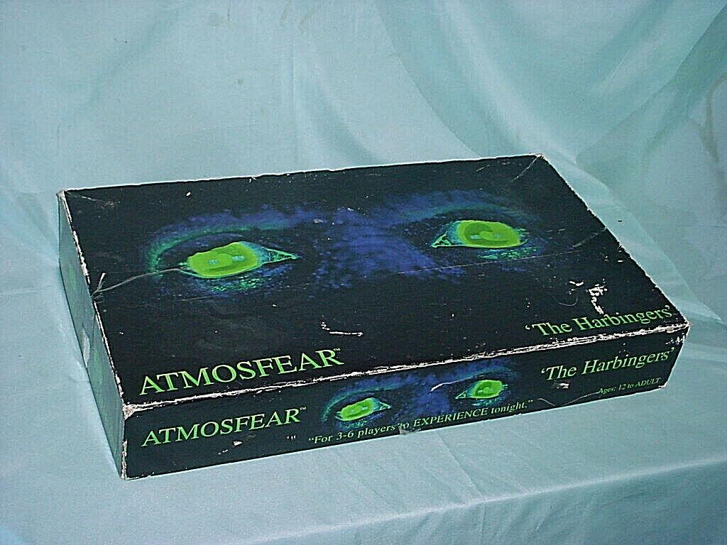 Atmosfear les signes avant-coureurs VHS Board Game Mattel 1995 Vintage-ONU joué cauchemar