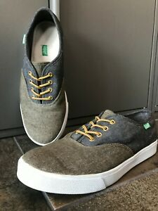 Keep-Shoes-Vegan-Canvas-Mens-8-Womens-9-5-EUC