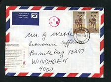 SWA   Nr. 477 Mef Paar  aus Lüderitz   (SWA3)