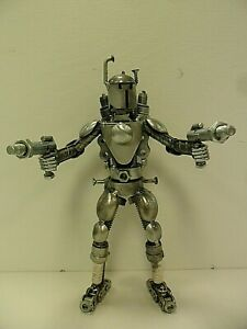 Metal-Standing-Boba-Fett-Sculpture-Made-From-Recycled-Metal