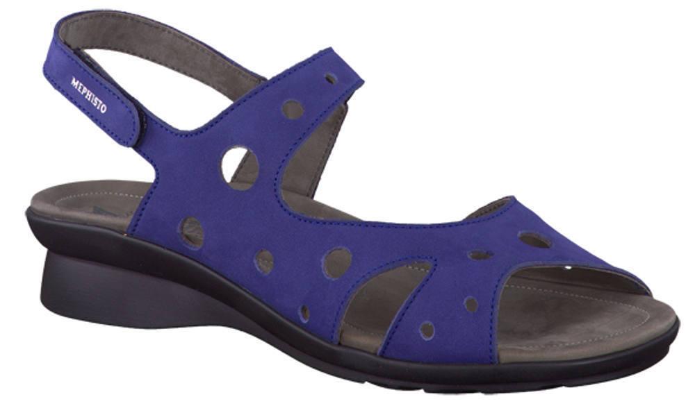 Ladies' Polly Casual Slingback Sandal Mephisto Polly Ladies' Indigo EU Size 41 e54670