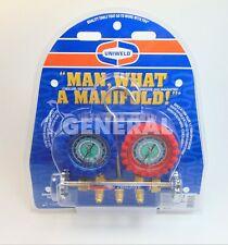 Uniweld Manifold Qs4l5h With5 Ft Soft Magic Barrier Hose Set R 410ar 22r 404