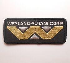 ALIEN MOVIE WEYLAND-YUTANI CORPORATION CORP LOGO COSTUME UNIFORM IRON ON PATCH