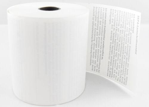 Thermorollen SEPA Lastschrift für ConCardis ICT 220-57mm x 40mm x 12mm