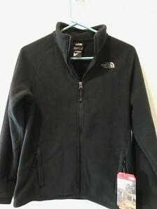14e347cf6 Details about The North Face Boys Mckhumbu Full Zip Jacket Fleece Jacket  NWT TNF Black