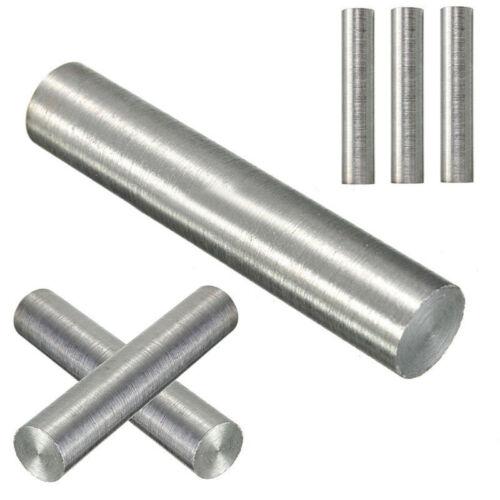 99.95/% Wolfram Tungsten Wolframstab Stab Stange Rundstab Ø10mm 50mm Silber