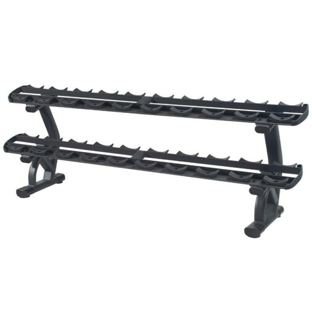 Andet, Relax Two tier dumbbell rack PTT0125, Relax Fitness,…