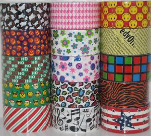 You Pick Jfl Brand Duct Tape Rolls Prints Amp Patterns