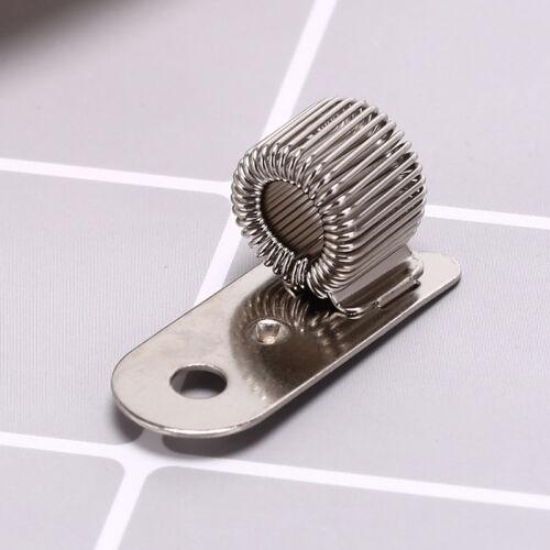 Stifthalter aus Metall mit Nietbefestigung und Taschenclip für Ärzte TFYZ fw