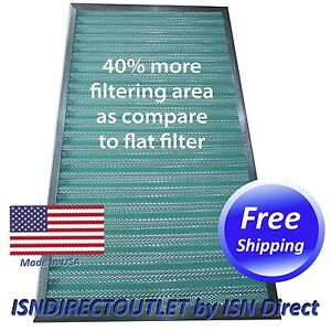 Reusable GOLD FRAME 20x25x1 Electrostatic Washable Permanent A//C Furnace Air Filter