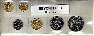 Seychelles Série De 6 Pièces De Monnaie