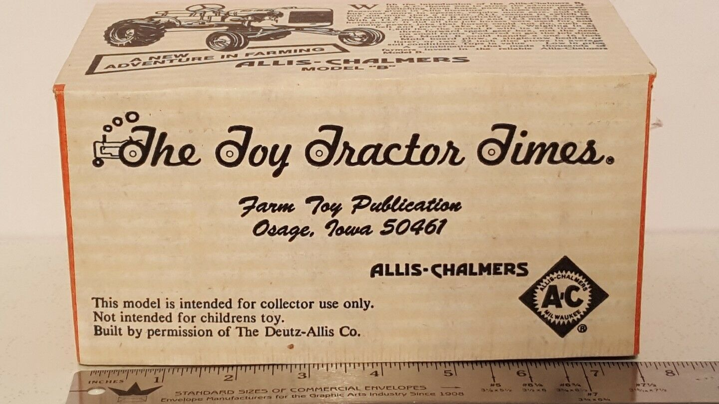 Allis Chalmers B 1 16 diecast diecast diecast farm tractor replica by Pioneer Collectibles 748853