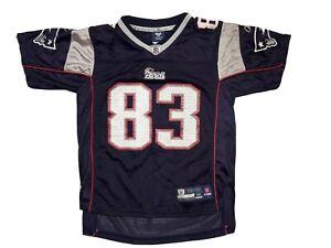 Wes Welker New England Patriots Reebok NFL Jersey Kids Size M (10 ...