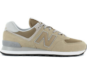 New-Balance-Classics-574-Baskets-Chaussures-Homme-Beige-Marron-Ml574ebe