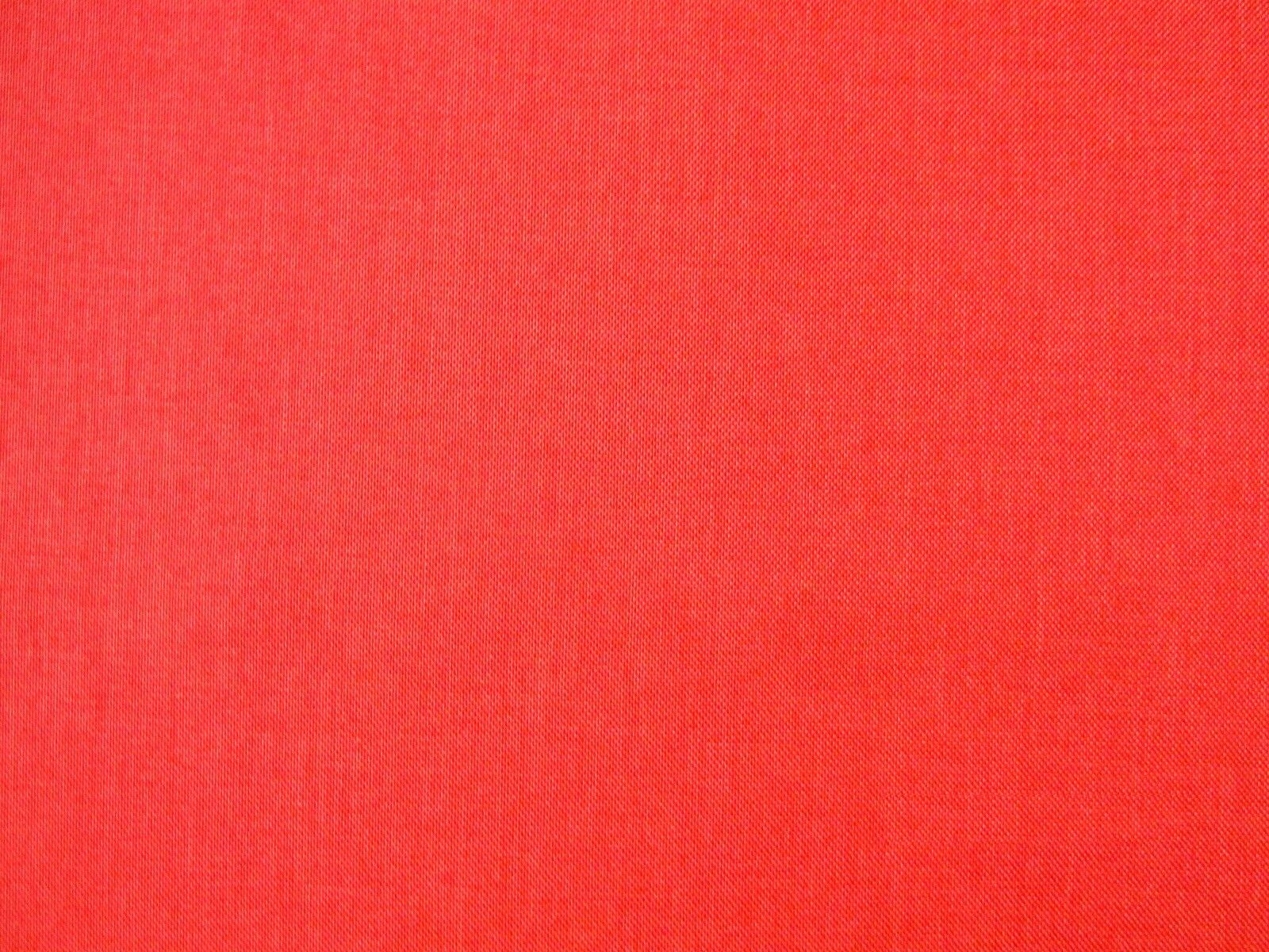 Just £6.95! Red Orange Linen look Curtain Upholstery Fabric Material SALE