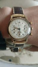 universal geneve 14k gold vtg mens swiss watch compax 1277725
