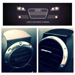 Fits Mk1 Mk2 Audi Tt Audi A3 Rs3 S3 Air Vent Sat Nav Or Mobile