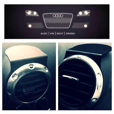 Fits Mk2 Audi TT - AUDI A3 RS3 S3 -Air Vent Sat Nav or Mobile Phone Holder