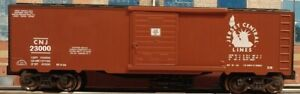 CNJ-JCL-JERSEY-CENTRAL-Boxcar-NEW-RMT-Ready-Made-Trains-2019-O-Line-Lionel