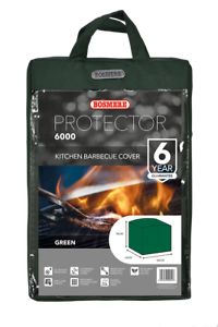 Bosmere Protector 6000 Kitchen BBQ Cover Green