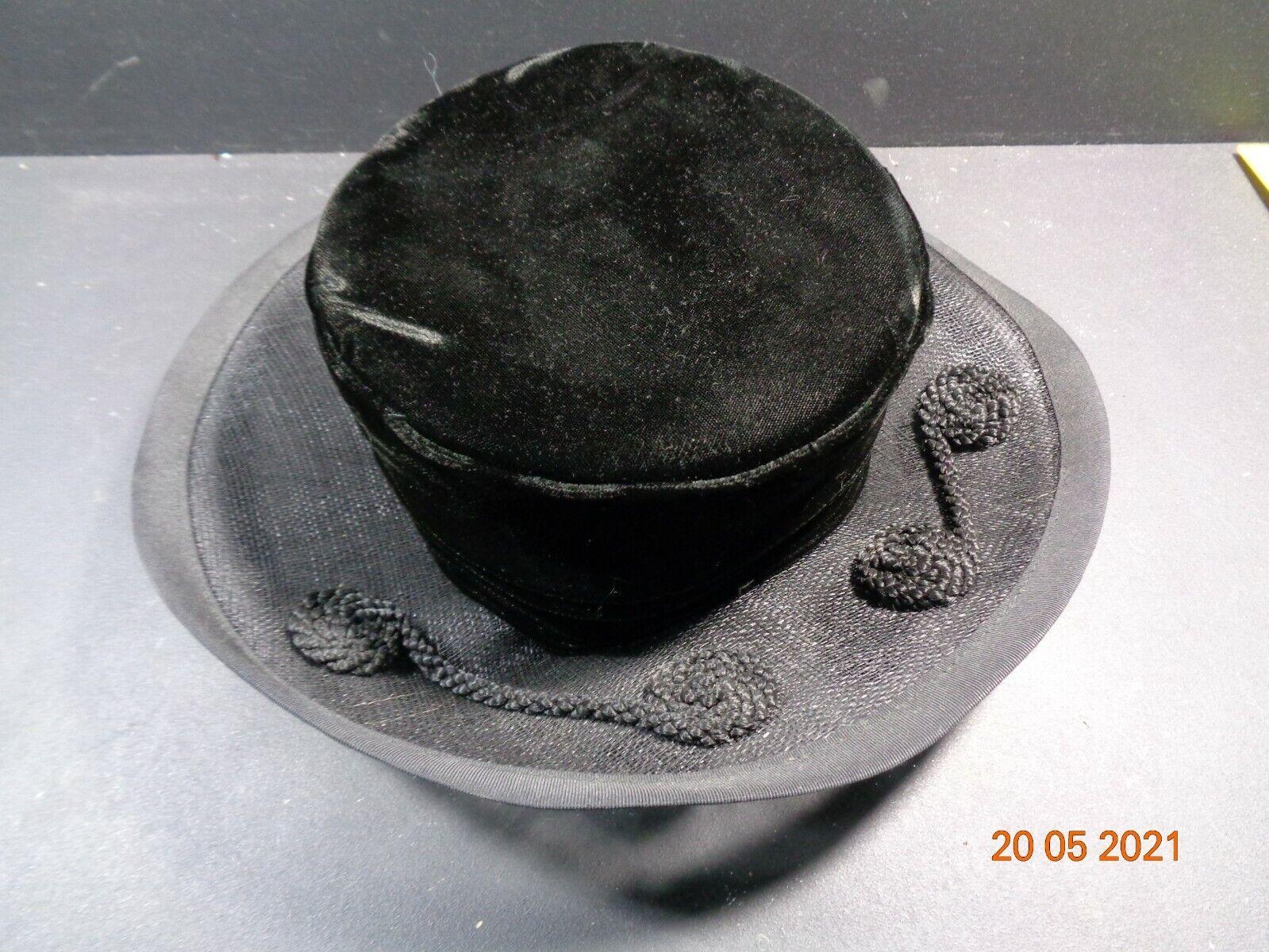 Black & Grey Colour Hat Occasional Womans