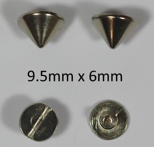 Leather work Screw Spike Rivet for Metal craft Clothing Jewellery Findings