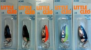 ACME-LITTLE-CLEO-1-3-oz-Fishing-Spoon-Choice-of-Color-One-Spoon