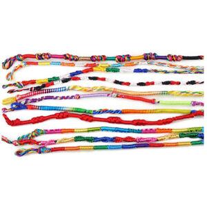 50Pcs-Jewelry-Tresses-Bracelets-Friendship-Bracelets-Handmade-Cords-N9S6-VC4