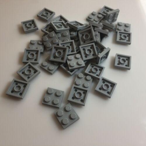 star wars gray 50 NEW LEGO Medium Stone Grey 2x2 Plates Bulk 3022//4211397