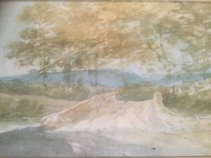 Original Watercolour Landscape Thought To Be By Charles John WATSON 18461927 - Banbury, Oxfordshire, United Kingdom - Original Watercolour Landscape Thought To Be By Charles John WATSON 18461927 - Banbury, Oxfordshire, United Kingdom