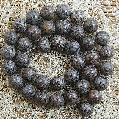 Natural Coffee Jasper Gemstone Round Beads 15'' 4mm 6mm 8mm 10mm 12mm 14mm