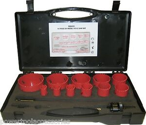 MTL-14-pc-Deluxe-Bi-Metal-Holesaw-Kit-hole-cutter-set-for-Professional-Tradesmen