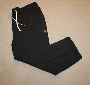 NEW-Polo-Ralph-Lauren-Pony-Logo-Big-and-Tall-Lightweight-Unlined-Sweatpants-2XB