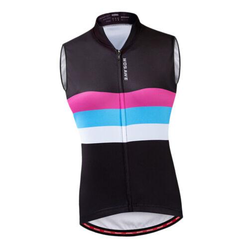 Fahrradweste Damen Laufweste Sportweste Radweste Atmungsaktiv Winddicht Weste