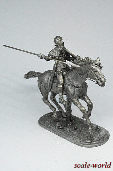 Tin soldier, figure. Mounted Roman 54 mm