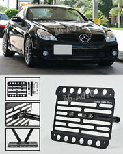 06-11 Mercedes-Benz R171 SLK-Class Front Tow Hook License Plate Bracket Holder