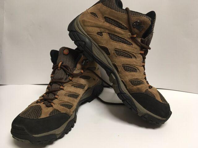 mens merrell moab 2 leather gtx shoes gu