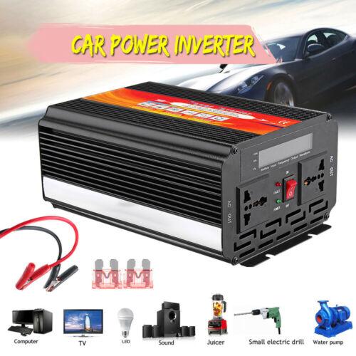 Car Inverter8000W Inverter12//24V to110//220V Sine Wave Converter With Blade Fuses
