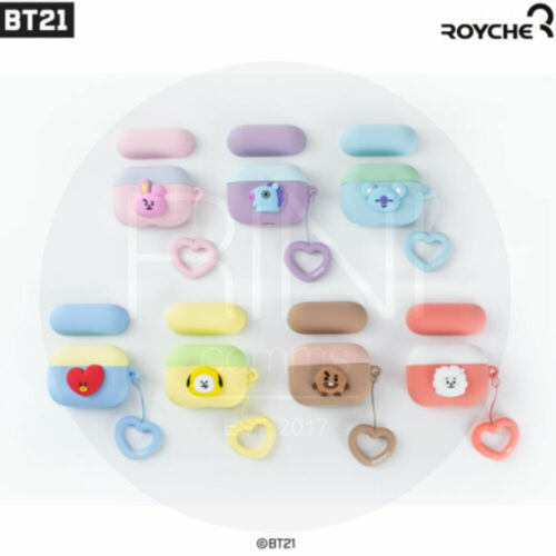 Tracking Nu BTS BT21 Official Authentic Goods Airpods Pro Case Heart Ring Duo