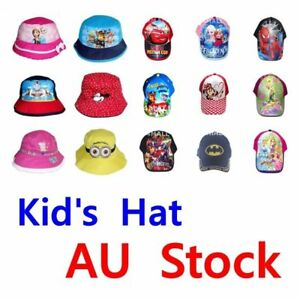 Image is loading Boys-Girls-Kids-Peaked-Cricket-Trucker-Baseball-Summer- ac13cc3c316a