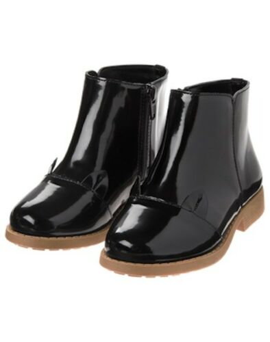 NWT Gymboree Tails of City Black Cat Ankle Boots Girls ManySizes