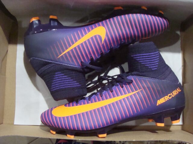 440d092a6 Nike Jr Mercurial Superfly V FG Soccer Cleats Sz 4y 100 Auth 831943 ...