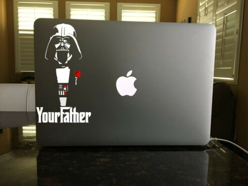 03-115 Godfather Parody Darth Vader vinyl decal Force Star Wars