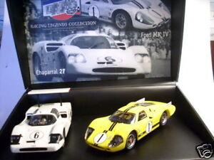 Mrrc Twin Set Le Mans Chaparral 2f / Ford Gt40 S.édition